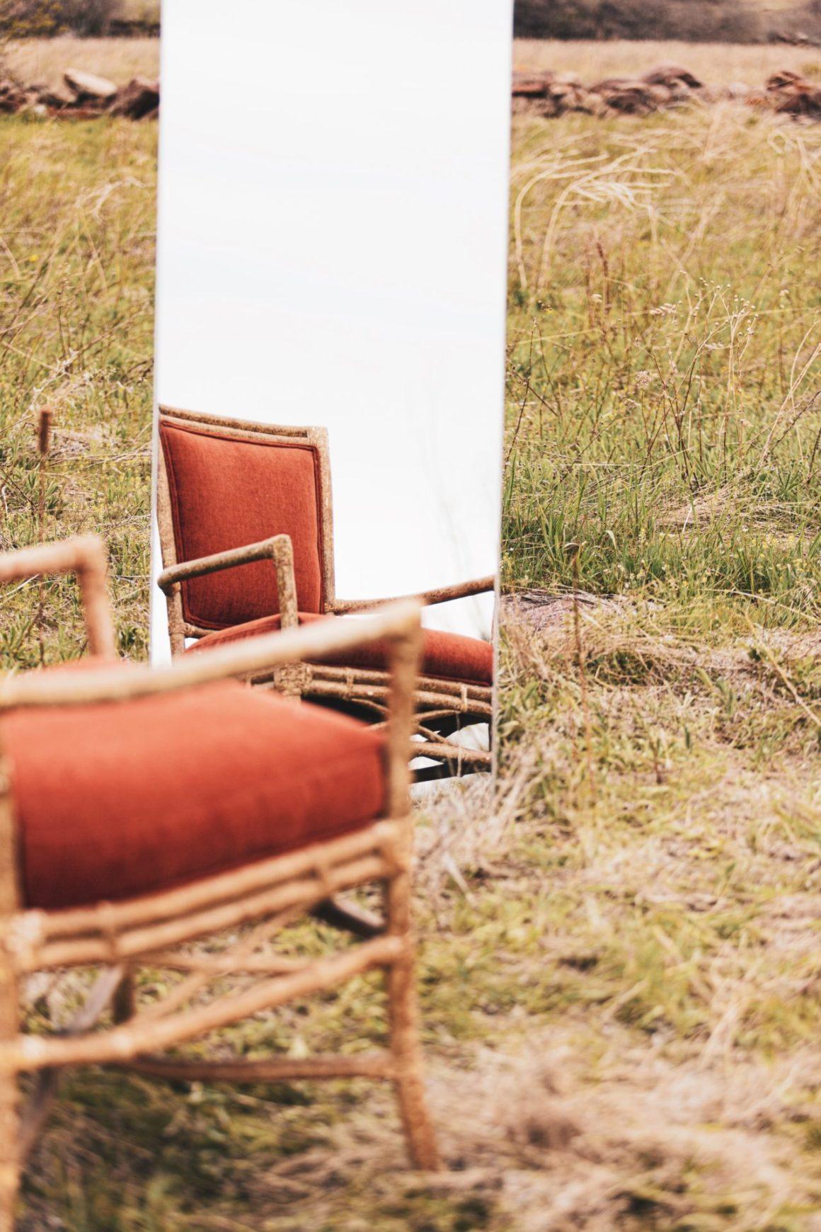 Sessel fuer psychotherapie in der natur