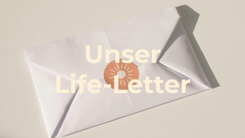 life letter Anmeldung